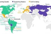 Not 50 But Just 12 Countries are Backing Guaidó in Venezuela