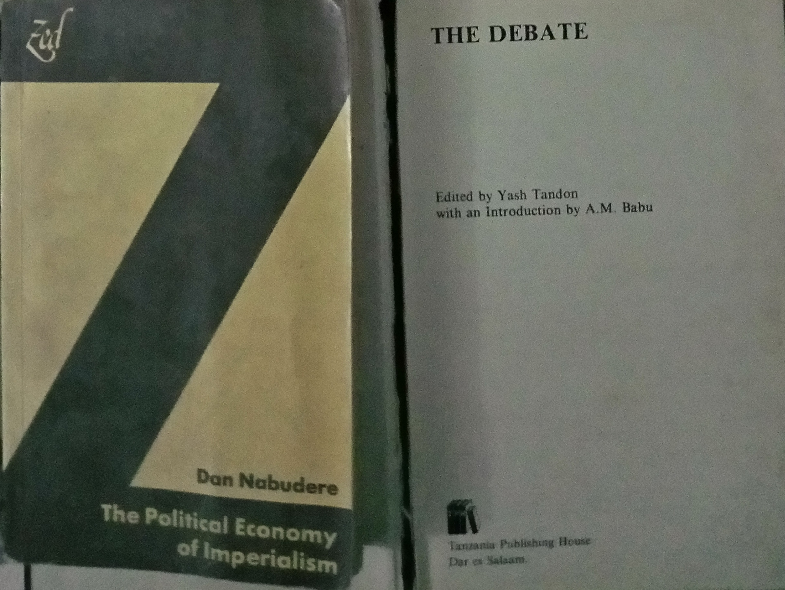 How Many Can Still Locate Own Copies of the Classics of Political Economy of Africa?