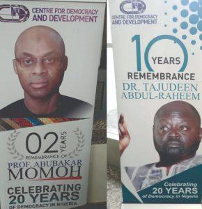 The Abubakar Momoh and Tajudeen Abdul-Raheem Mystique - Intervention