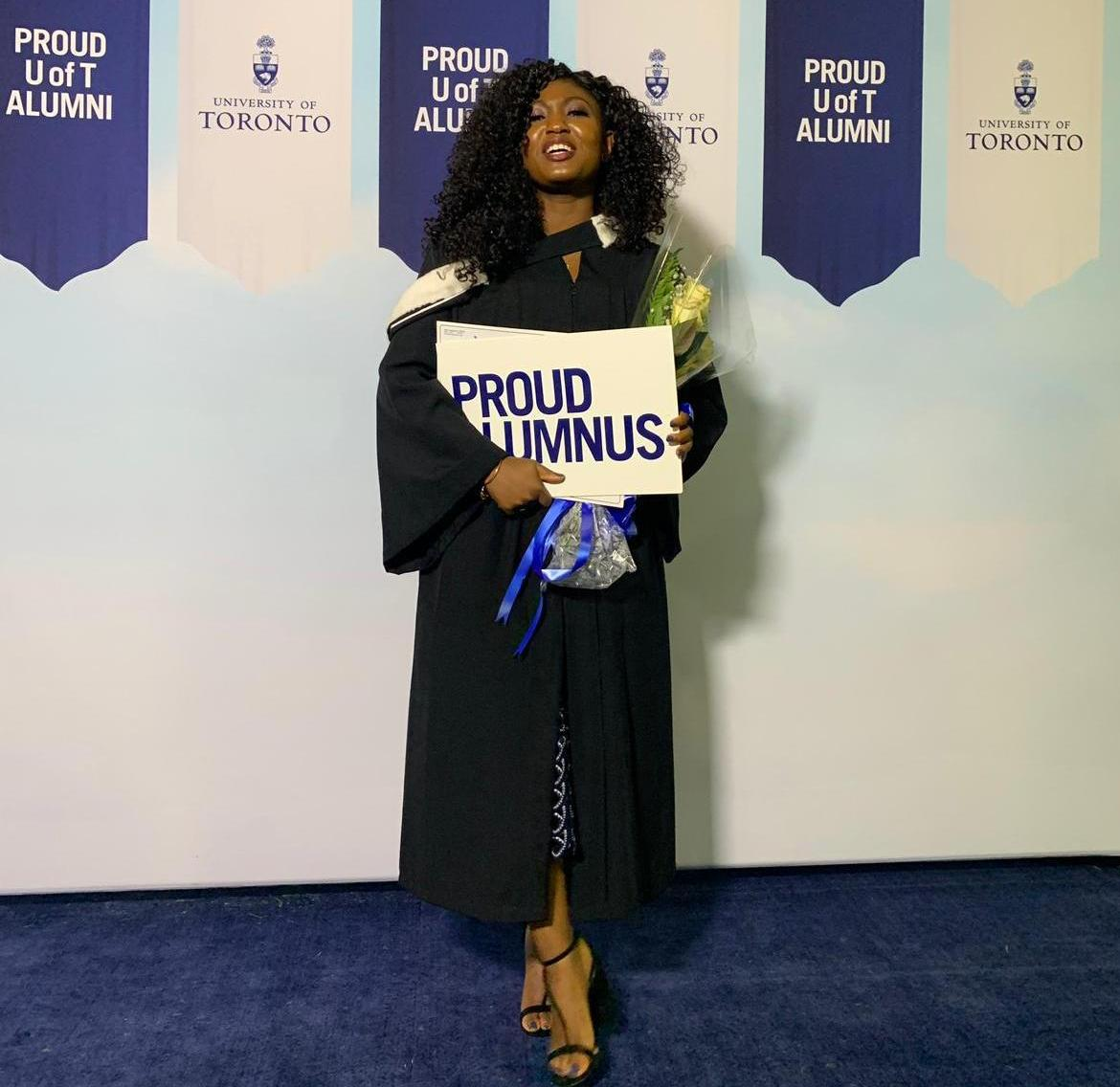 Miss Onyemowo Jane Odah's First Sip From the Cup of Knowledge