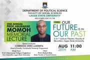 LASU Holds Memorial Lecture for Late Prof Abubakar Momoh