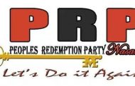 PRP Declares Indigeneship Non-Issue in Membership, Says Party open to All Nigerians Without Conditionalities