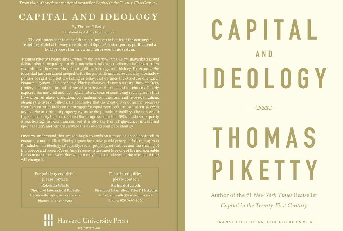 What is Thomas Piketty's Battle Cry This Time Around?