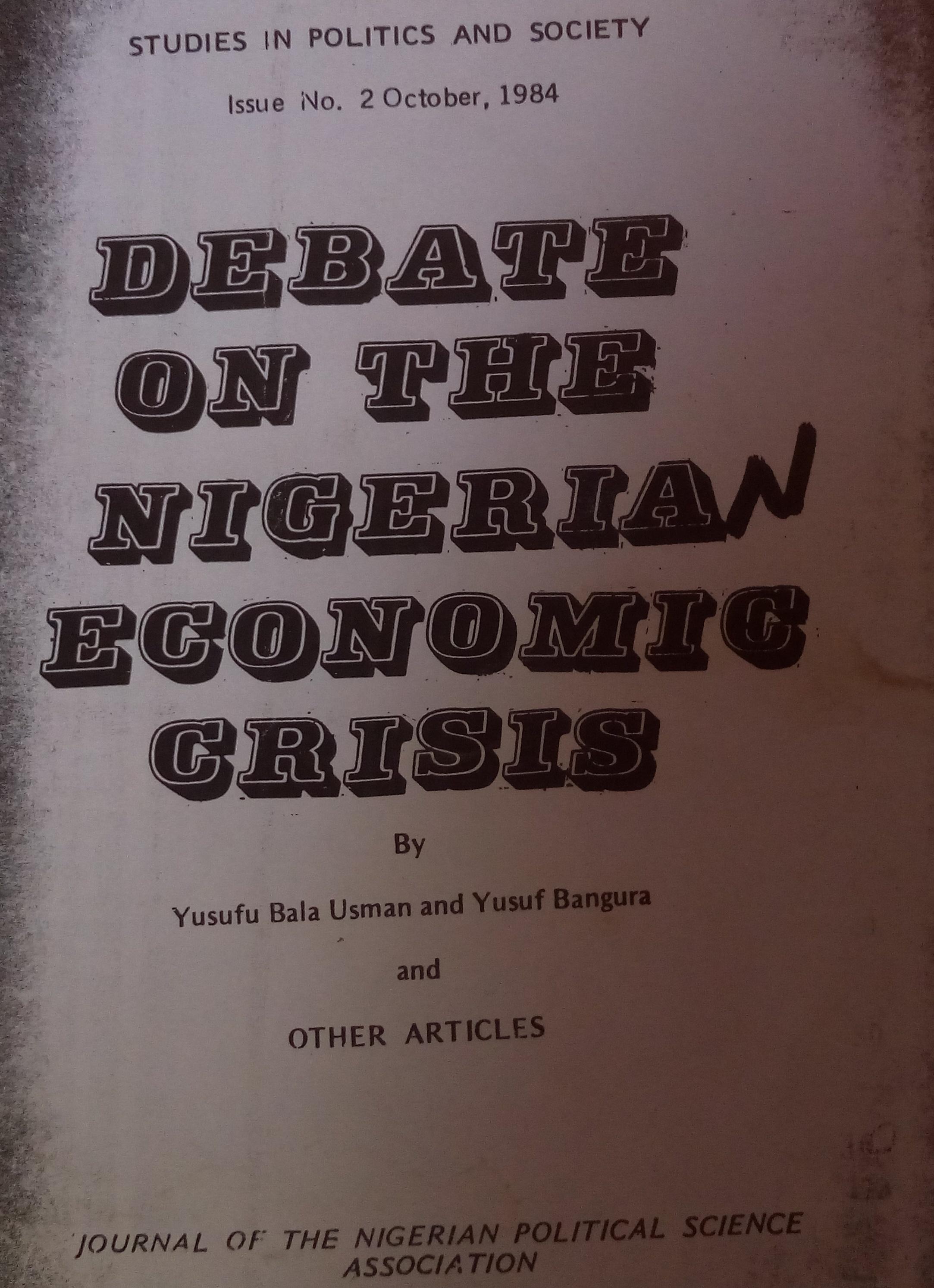 Yusuf Bangura On Yusuf Bala Usman