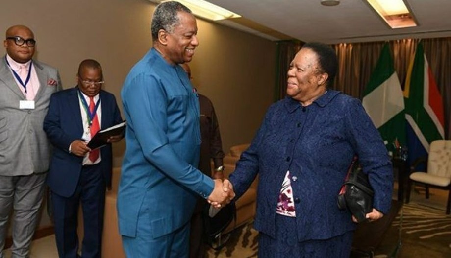 Nigeria and South Africa Back in Hot Diplomatic Romance