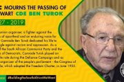 Africa Mourns Prof Ben Turok, Ponders His Big Question, 'Africa: What Can Be Done?'