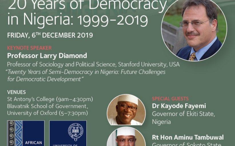The Nigerian Moment @ Oxford University
