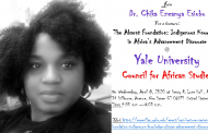 Dr. Chika Ezeanya-Esiobu Takes Case for Indigenous Knowledge to Yale