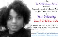 Dr. Chika Ezeanya-Esiobu Takes Case for Indigenous Knowledge to Yale