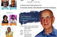 Nigeria Holds Memorial Colloquium for Prof Bjorn Beckman