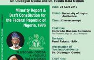 Obasanjo's Proposal to the Rescue?