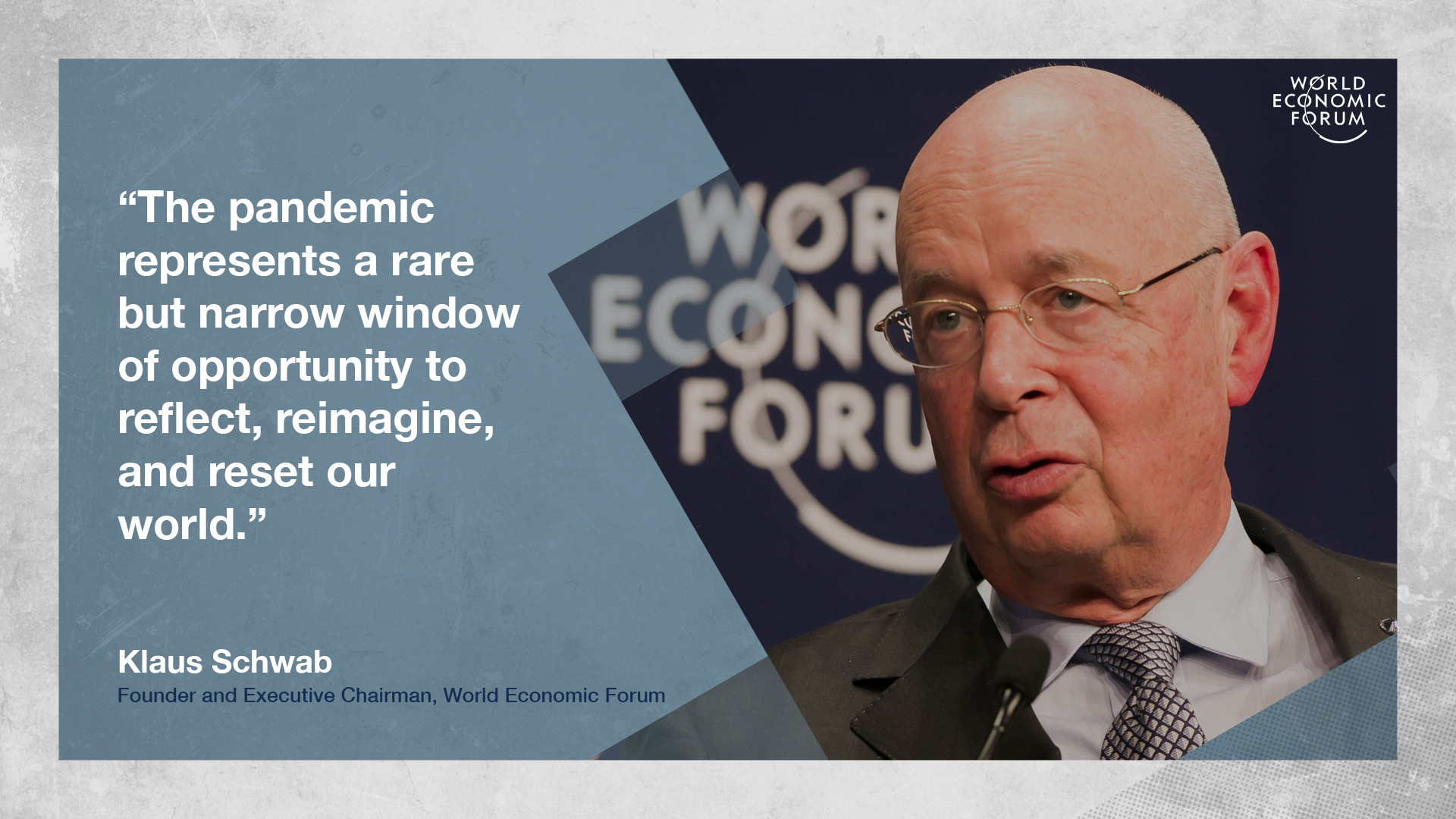 World Economic Forum Sets Ball Rolling on Overcoming Global Crisis, Proposes 'The Great Reset'