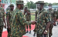 Change of Command at 6 Division, Nigerian Army