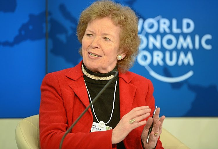 The World Awaits Mary Robinson's Verdict on Akinwumi Adesina Amidst Claims of 'Transparent Imperialism'