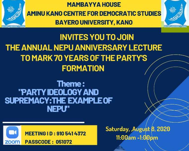 Ideologues Reflect on Radical Tradition in the North @ the 70th Anniversary of NEPU
