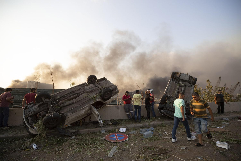 Huge Explosion Leaves 51 Lebanese Dead