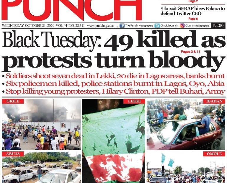 Virtuous War and the Case Against Charging the Media With Hyperrealism Over Lekki Shooting