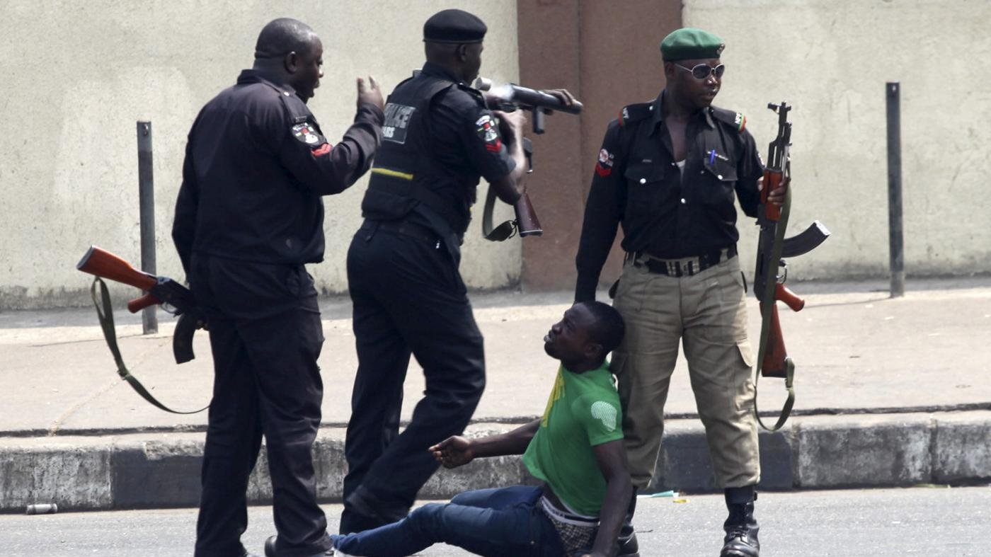 A Week of Anti-SARS Protest in Nigeria
