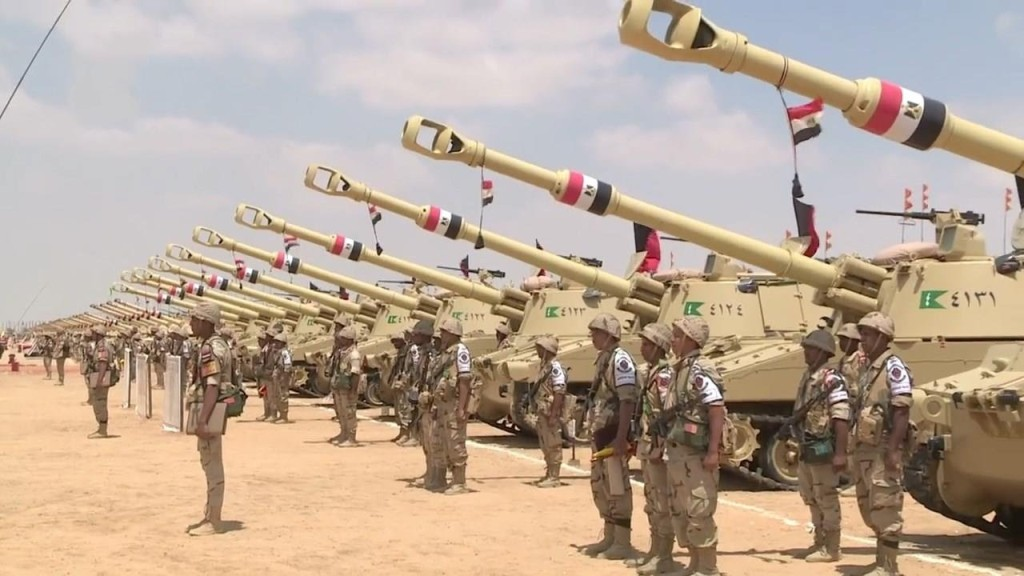 Egypt Has Largest Military Forces But Lowest Military Spending in MENA - SIPRI