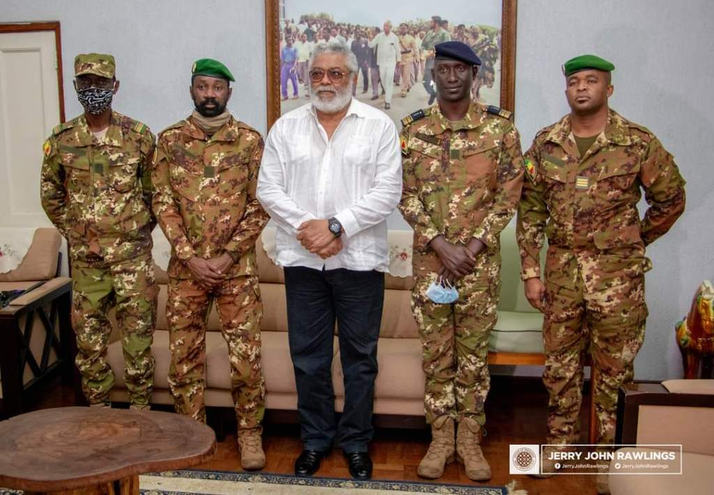 News of Jerry Rawlings' Death Filters In