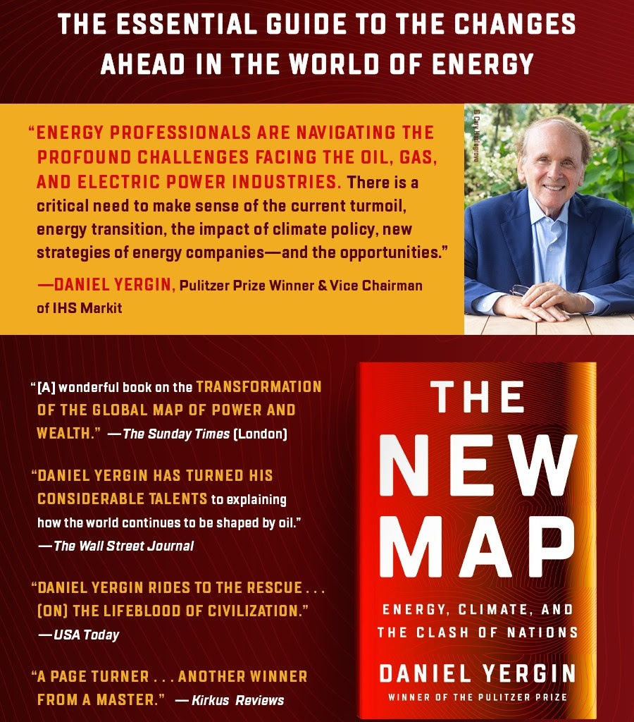 Daniel Yergin, the Oracle of Global Energy Politics, is Back With Another Book