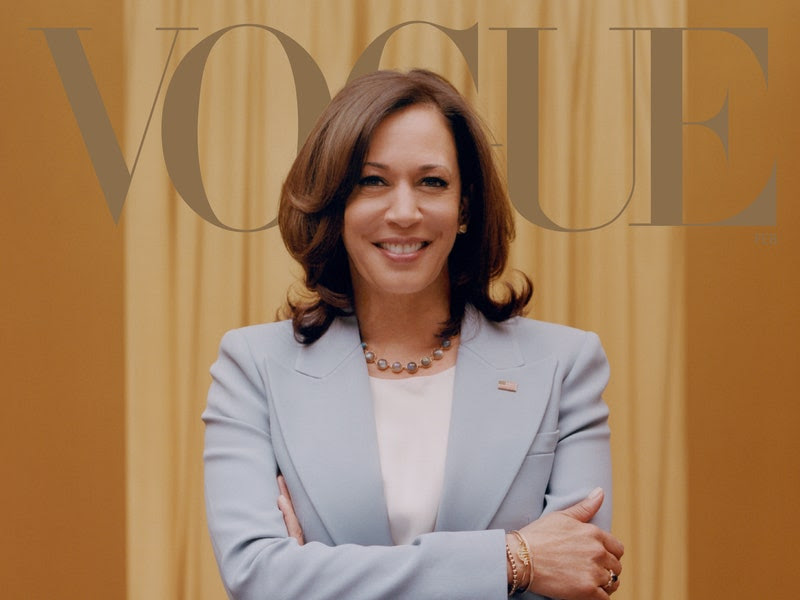 Vogue Proclaims Kamala Harris as the Next Obama