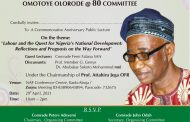 On, About and Beyond Olorode