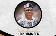Marking the 1st Anniversary of Dr. Yima Sen